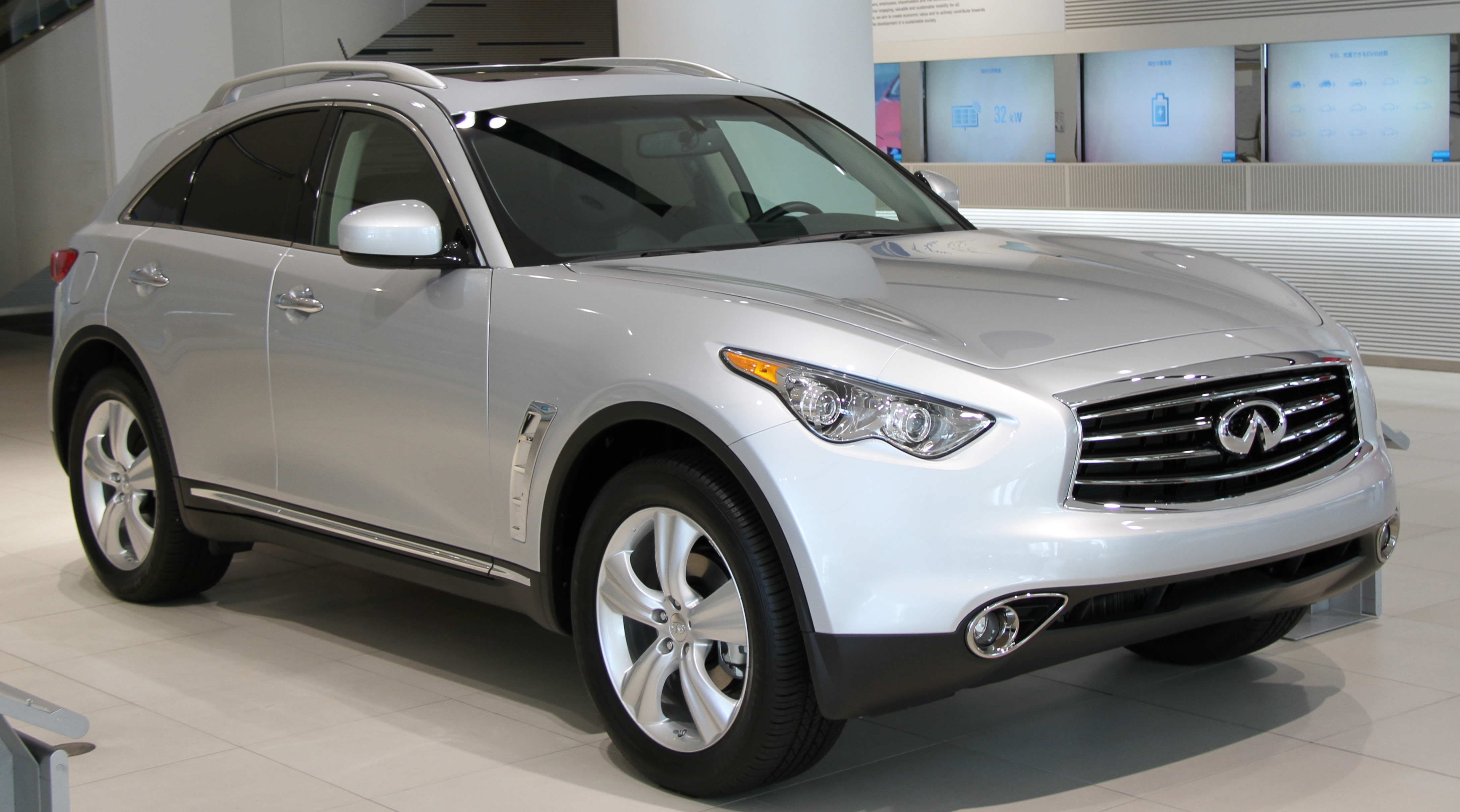 for suv large black base infiniti obsidian groovecar awd infinity sale research composite