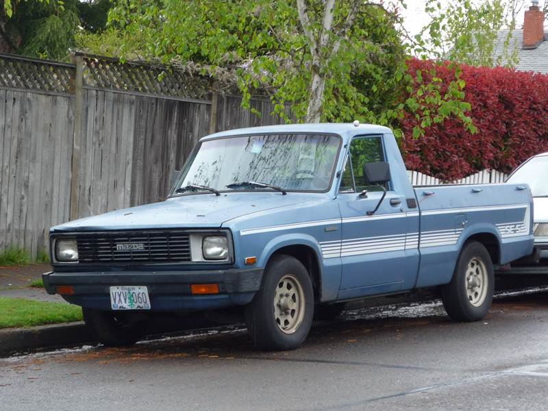 1987 Ford Courier #5