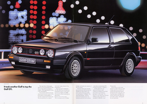 1991 Volkswagen Golf #5