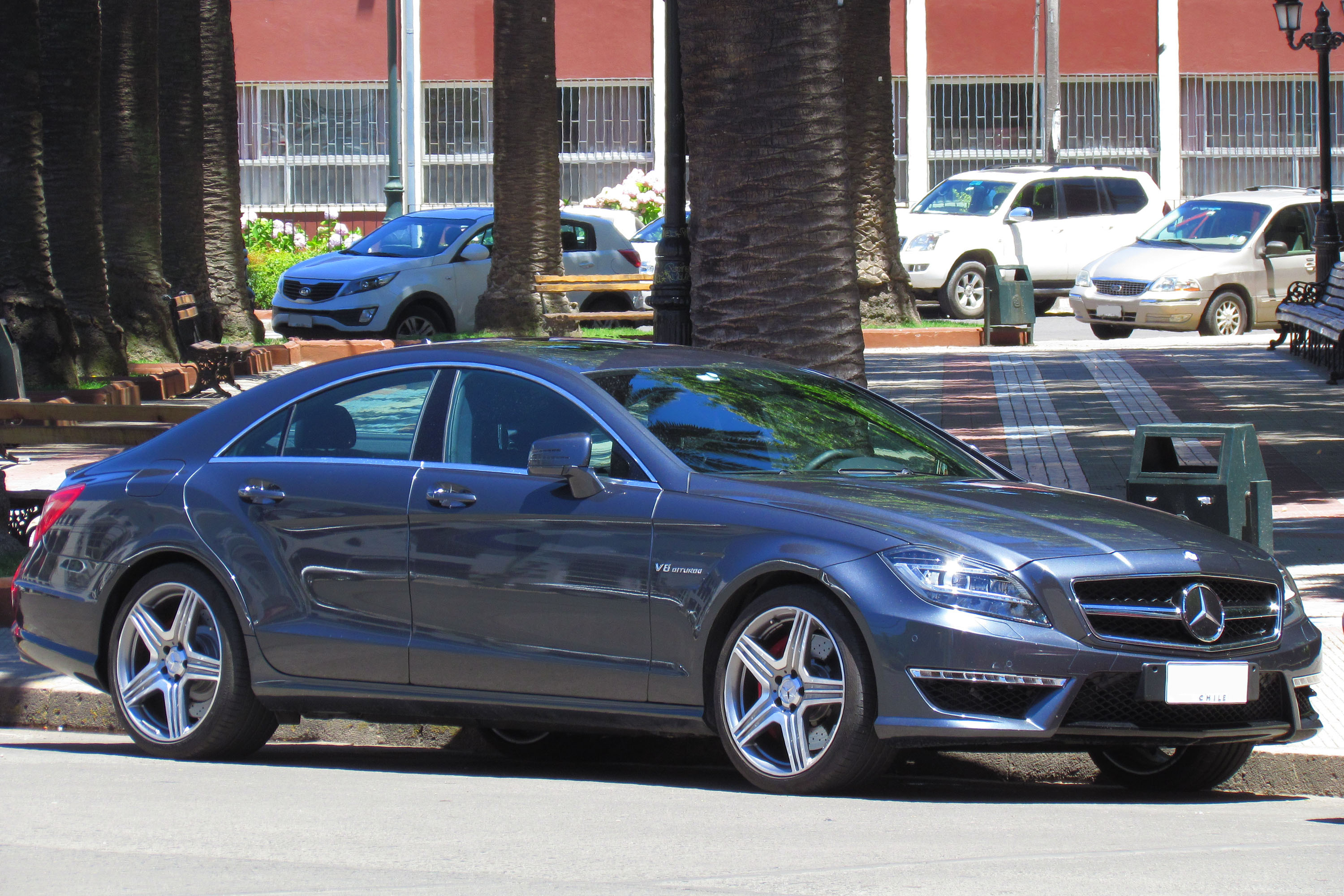 2013 Mercedes Benz Cls Photos Informations Articles 2008 550 Wide Kit 4