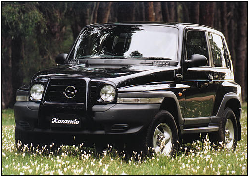2001 Ssangyong Musso #17