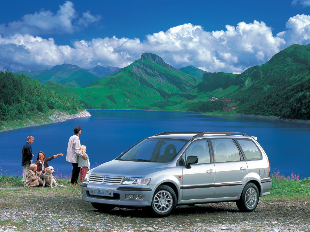 2001 Mitsubishi Space Wagon #5