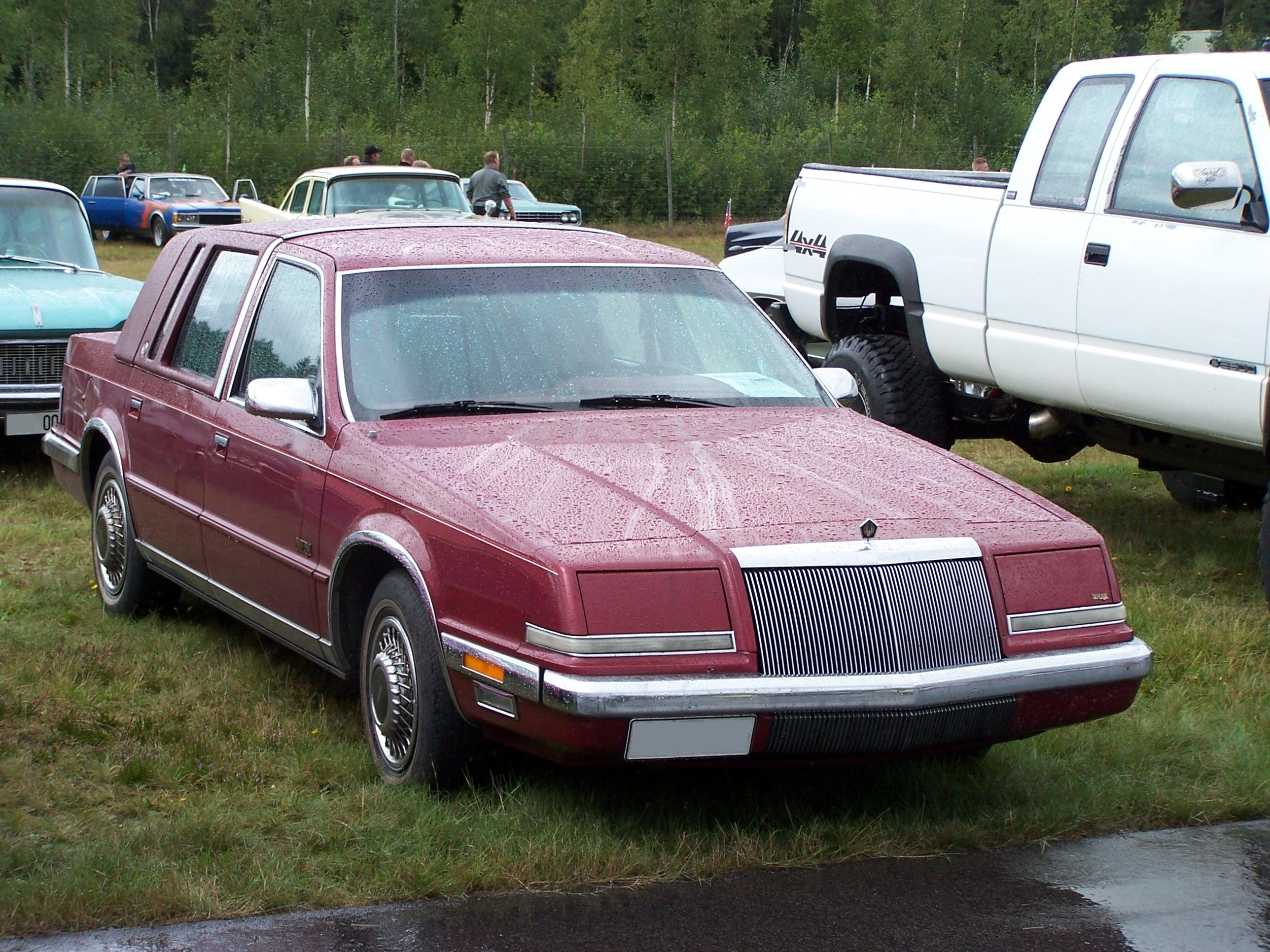 1992 Chrysler Imperial #5