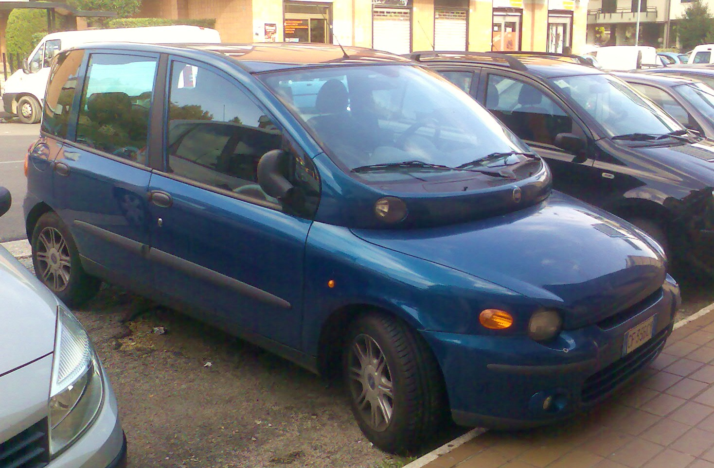 2000 Fiat Multipla Photos Informations Articles