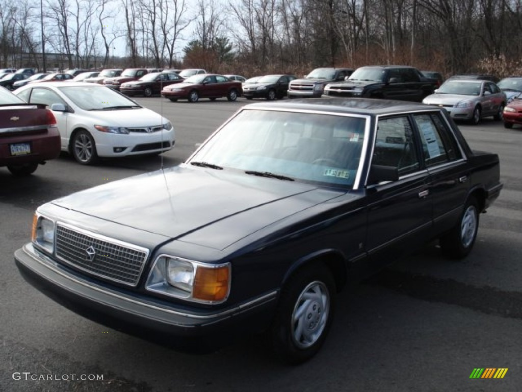 1988 Plymouth Reliant #6