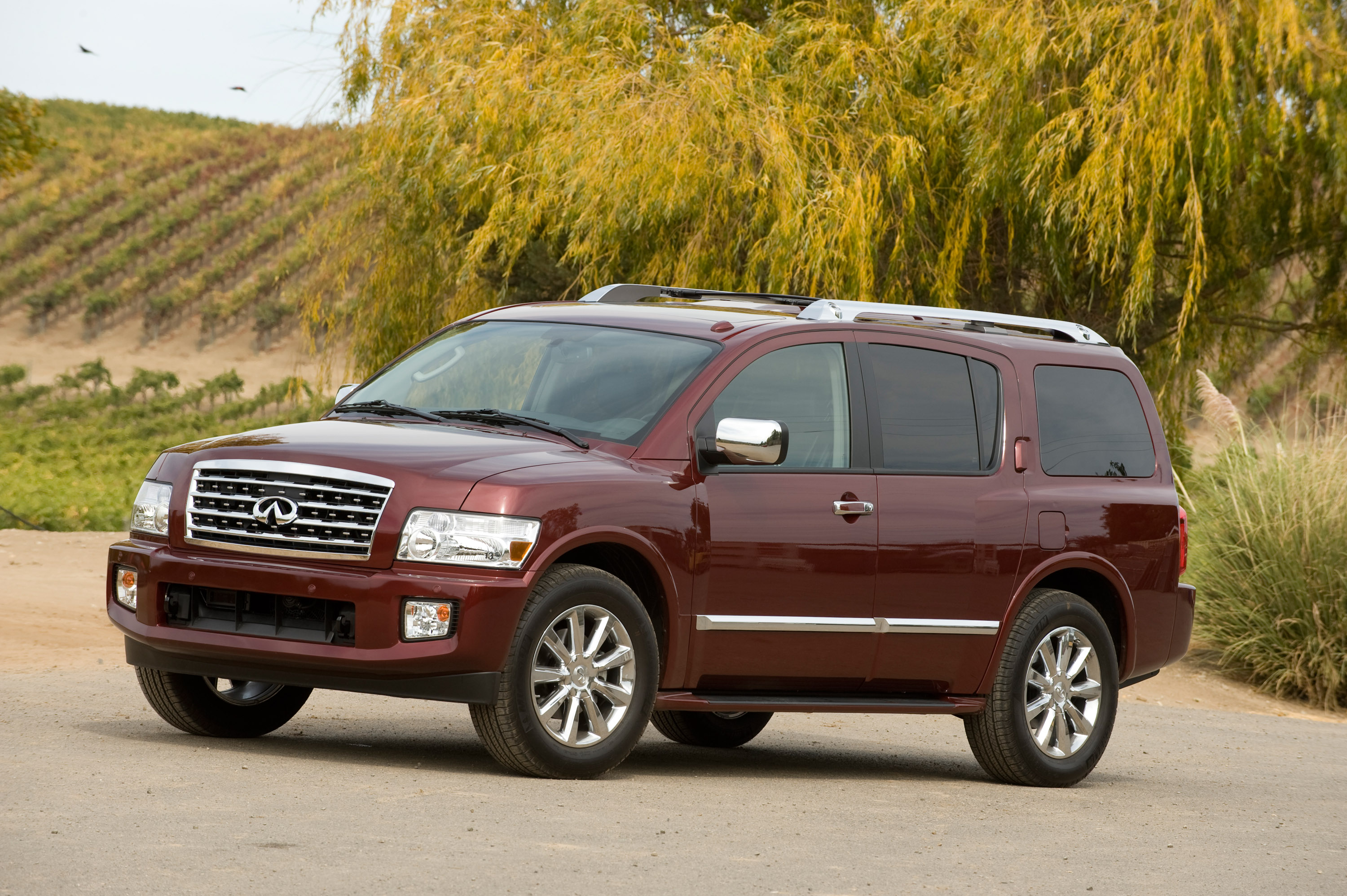 infiniti escalade infinity cadillac in for sale autotalk review