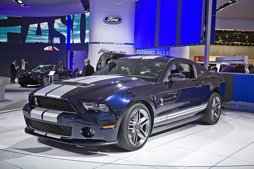 2010 Ford Shelby GT 500 #10
