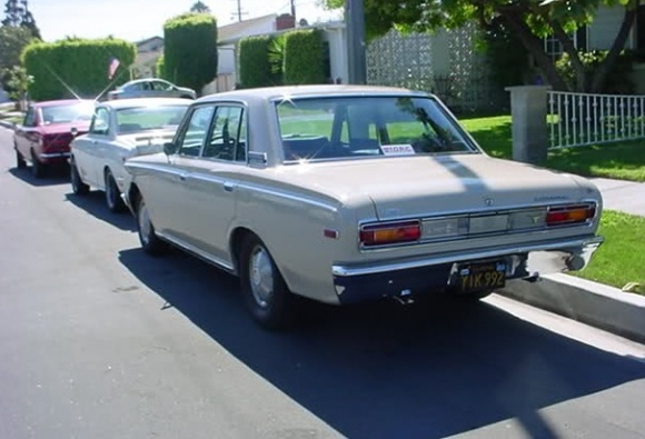 1969 Toyota Crown #9