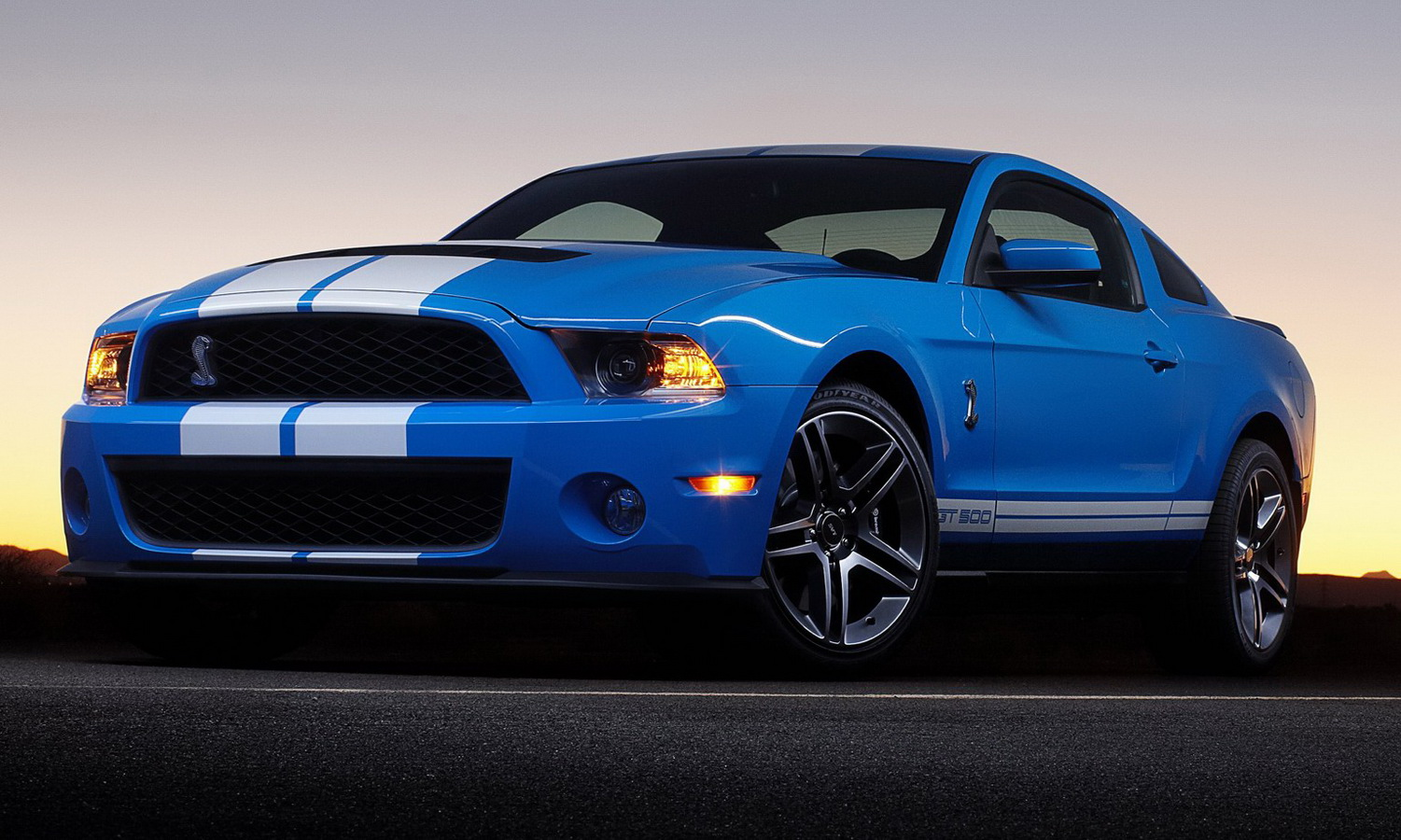 2009 Ford Shelby Gt500 #3