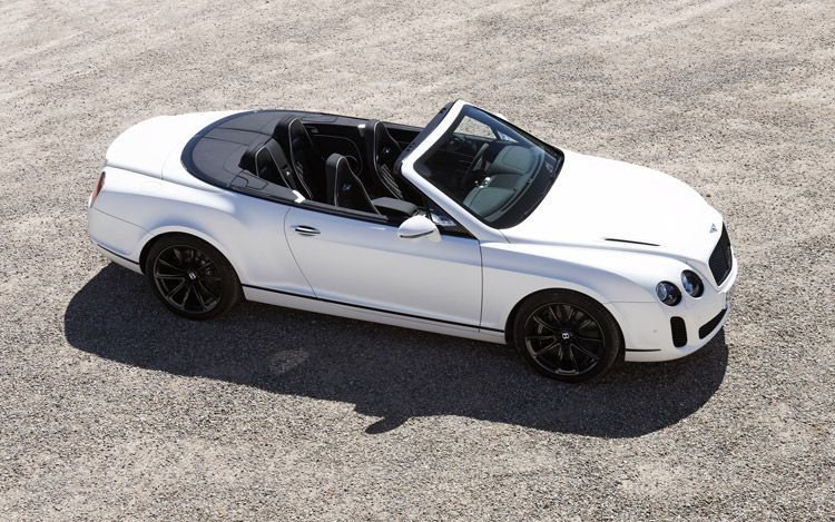 Bentley Continental Supersports Convertible #3