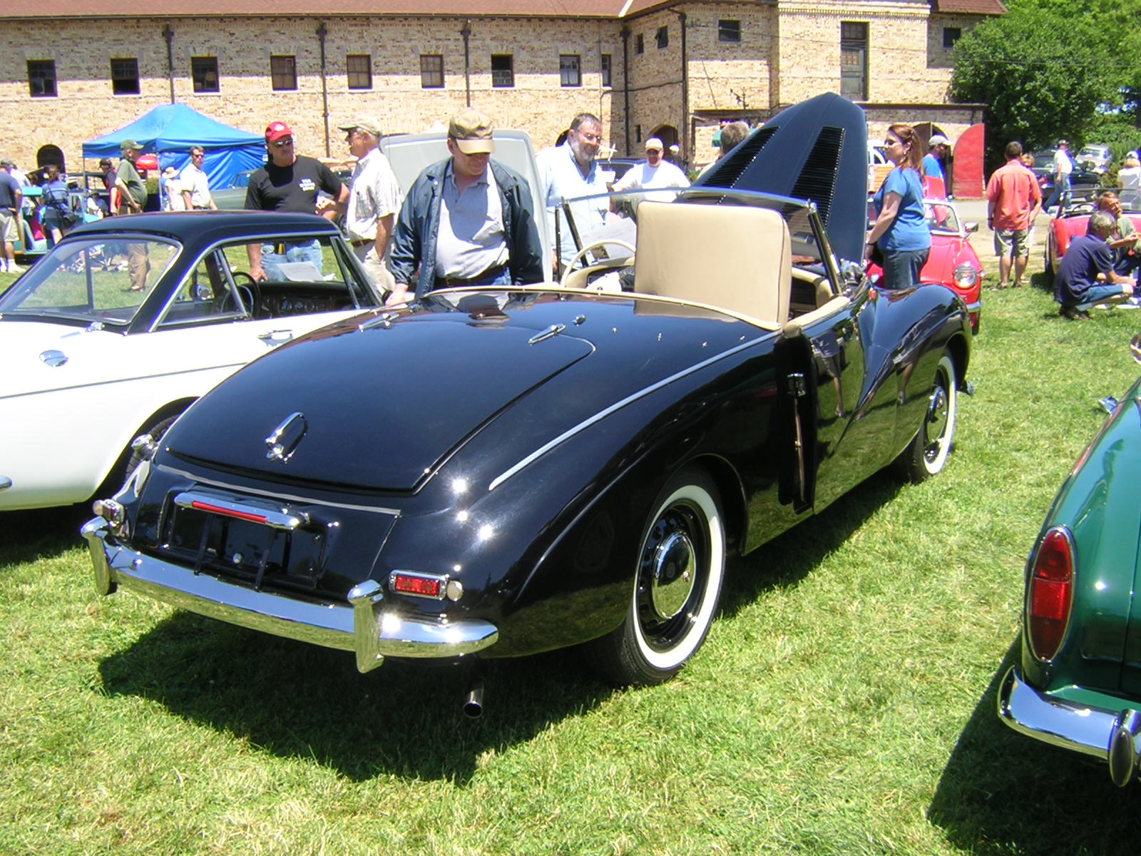 1954 Sunbeam Alpine #11