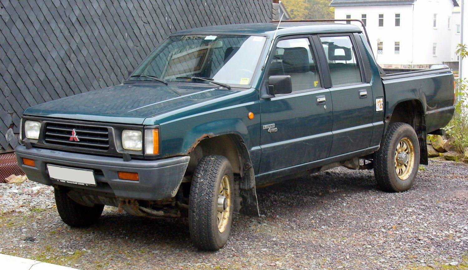1997 Mitsubishi L 200 Photos Informations Articles Wiring Diagram For Eclipse Spyder 7
