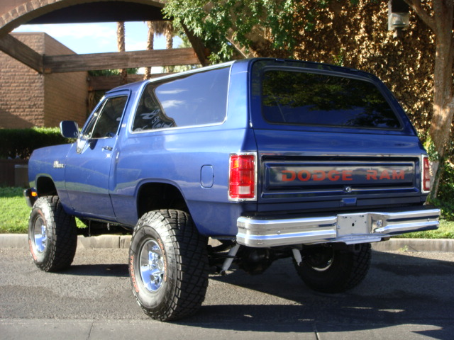 1991 Dodge Ramcharger #13