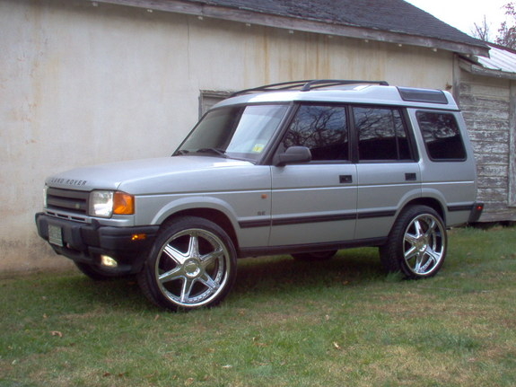 1997 Land Rover Discovery #14