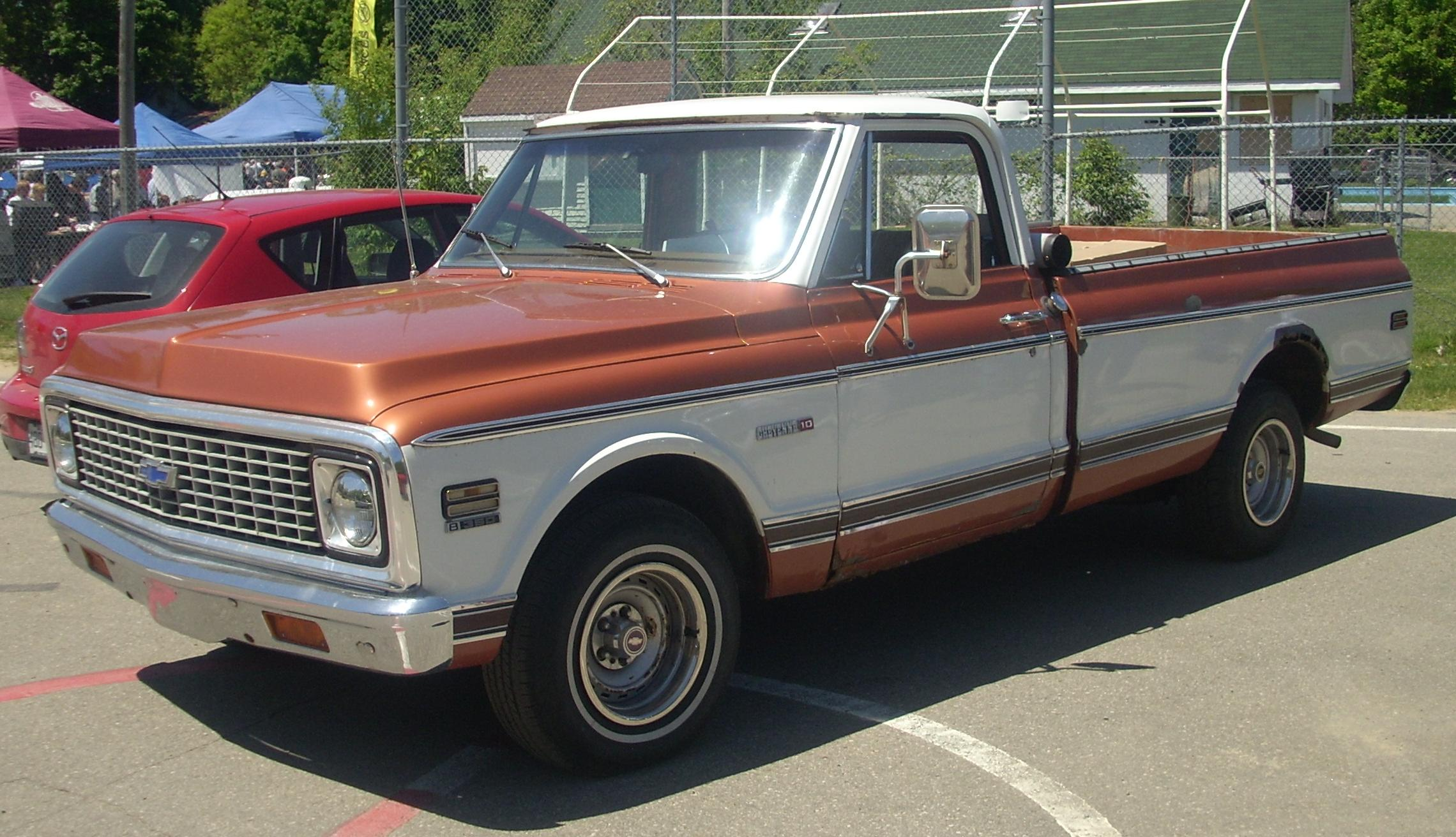 Chevrolet C 10 Photos Informations Articles Power Tail Gate Circuit Diagram Of 1966 19