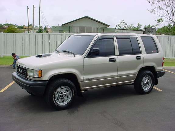 1995 Isuzu Trooper #4