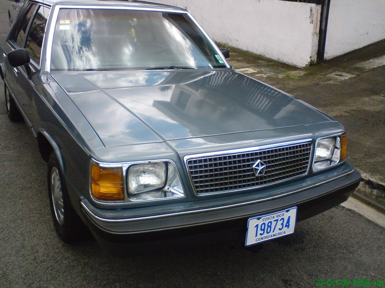 1986 Plymouth Reliant #12