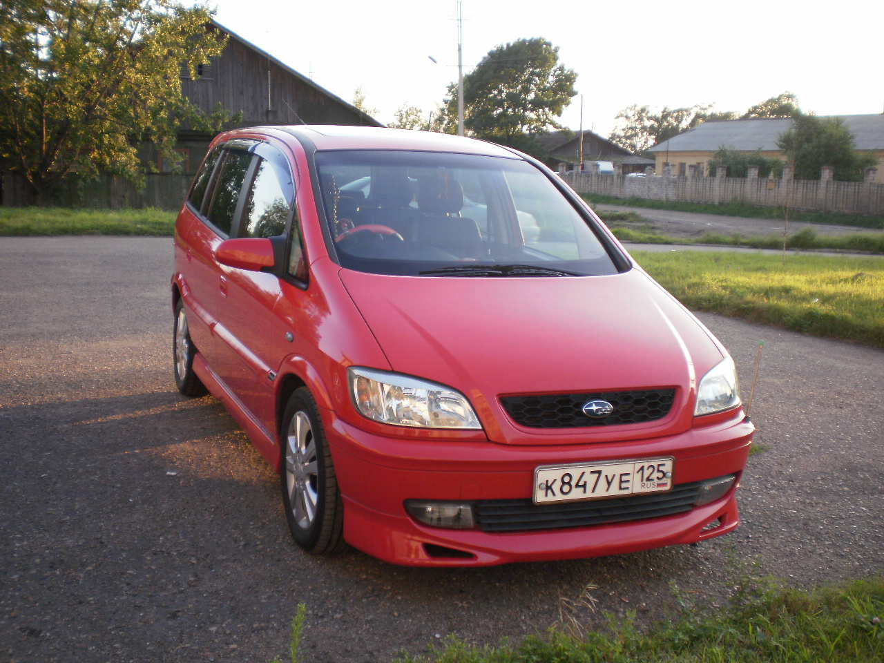 Subaru Traviq #10