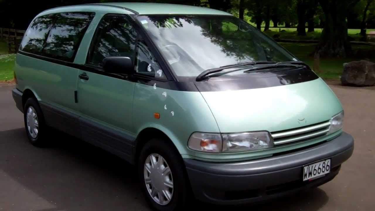 1996 toyota previa photos informations articles. Black Bedroom Furniture Sets. Home Design Ideas