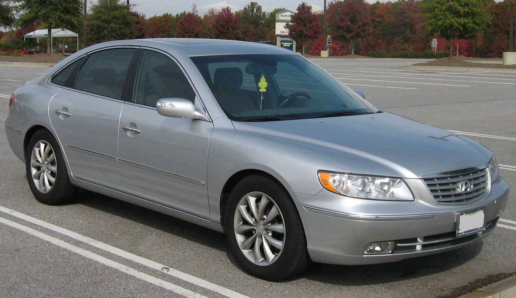 2008 Hyundai Azera Photos Informations Articles