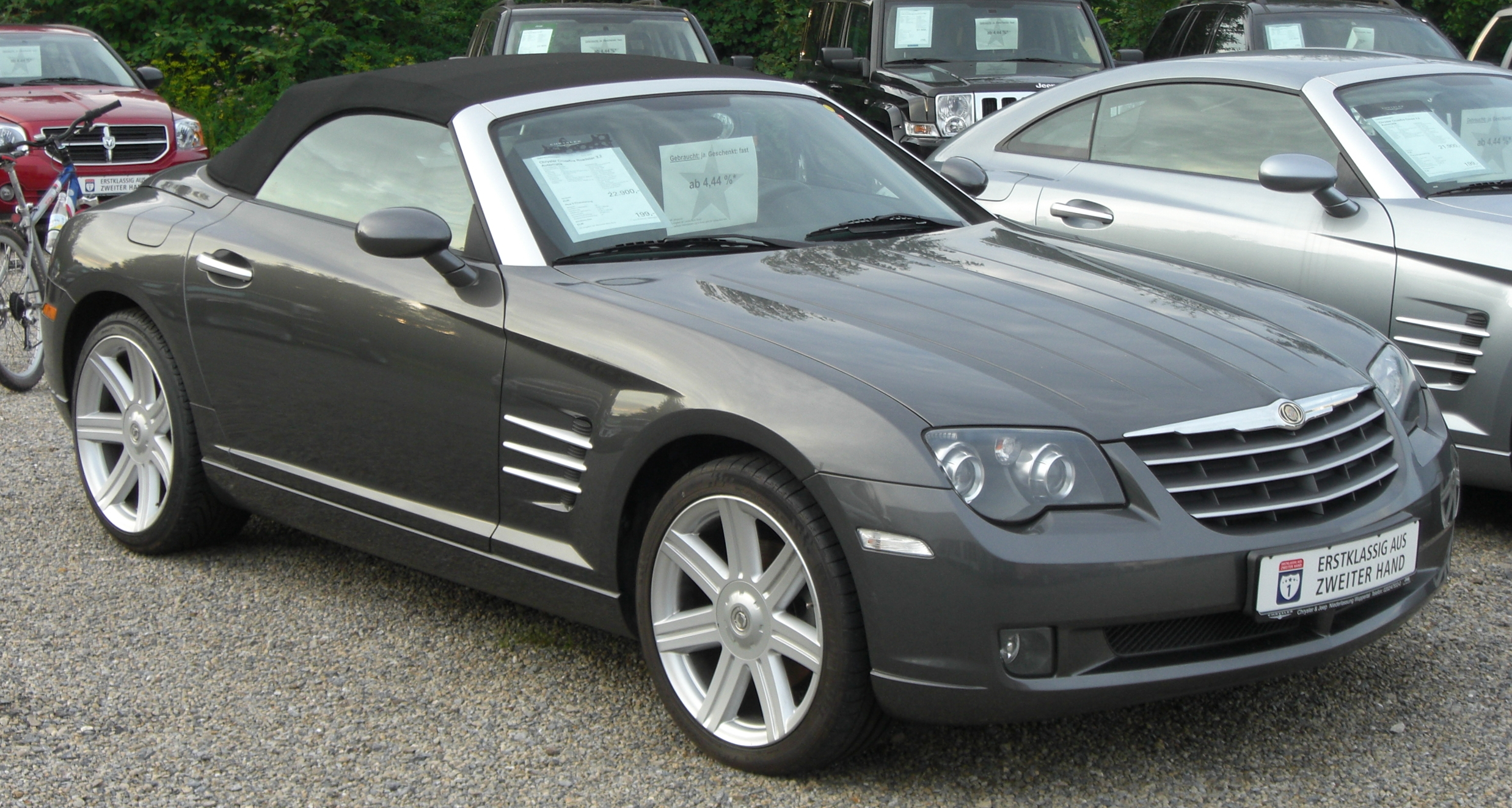 2008 Chrysler Crossfire #4