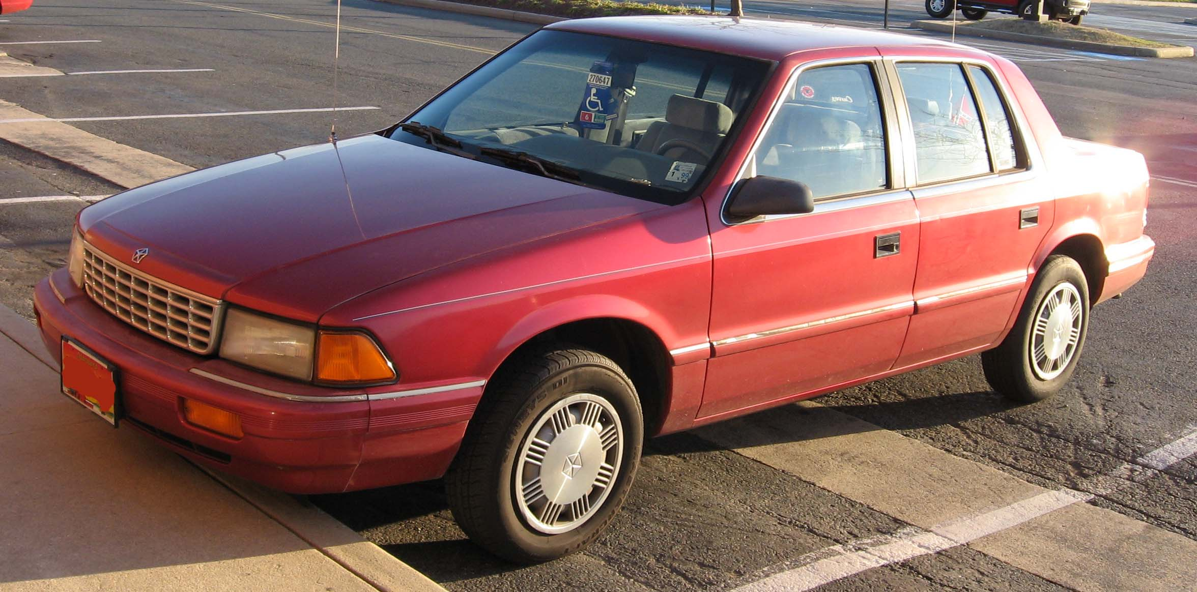1990 Plymouth Acclaim #16