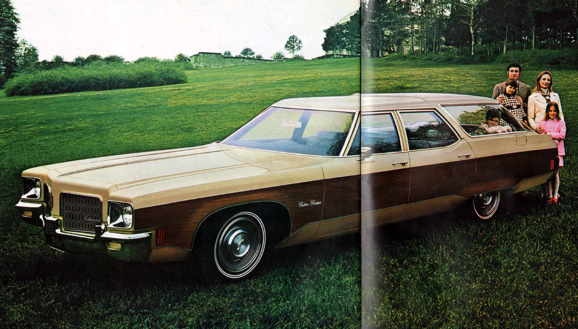 1971 Oldsmobile Vista Cruiser #17