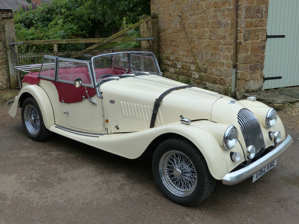 1990 Morgan Plus 4 #4