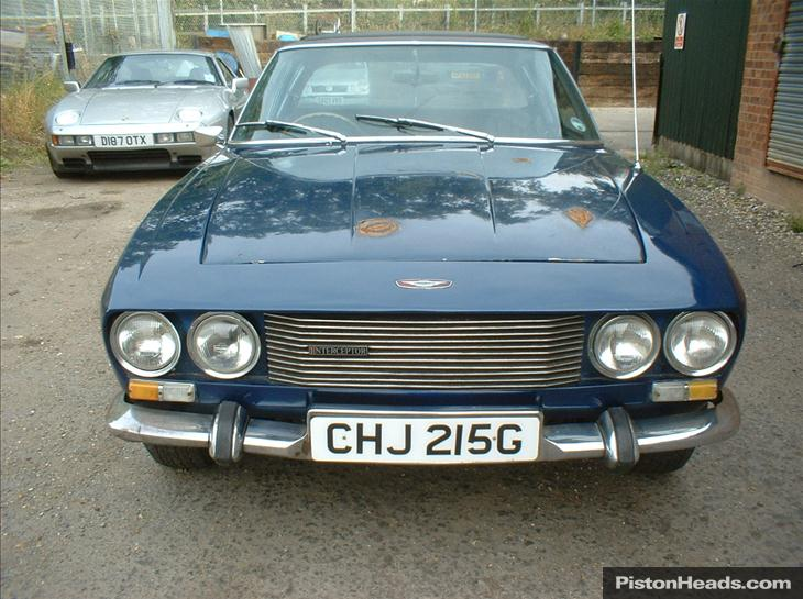 1968 Jensen Interceptor #8
