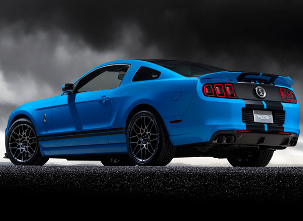 2013 Ford Shelby Gt500 #6