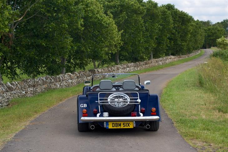 1997 Morgan Plus 4 #17