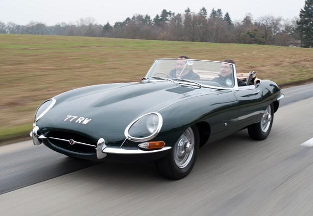 Jaguar E-Type #10