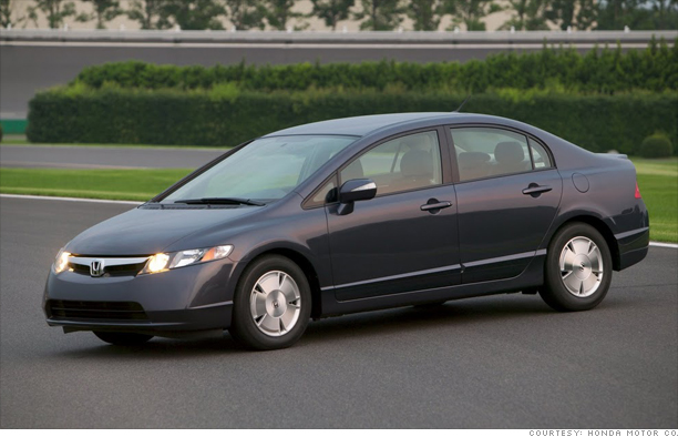 2005 honda civic hybrid manual 0-60 youtube.