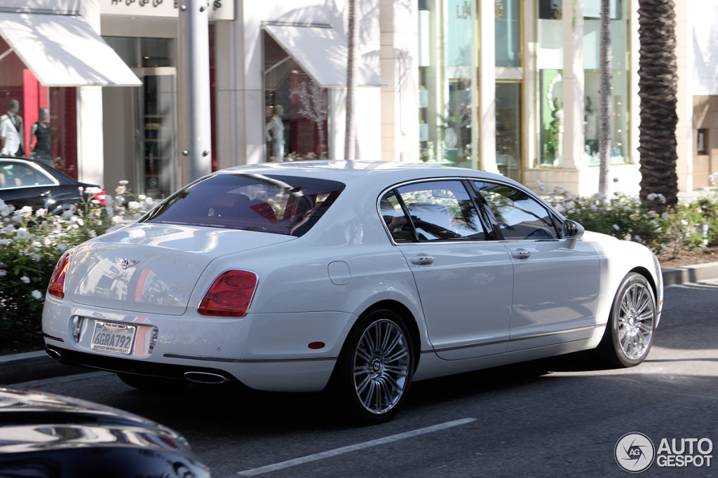 2009 Bentley Continental Flying Spur Speed #6