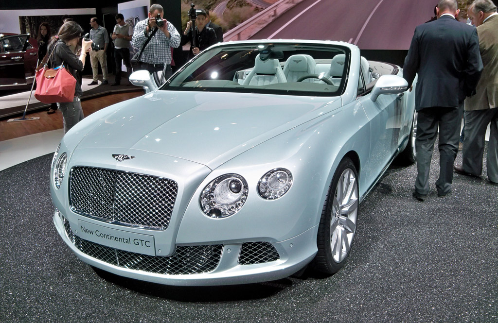 2012 Bentley Continental Gt #10