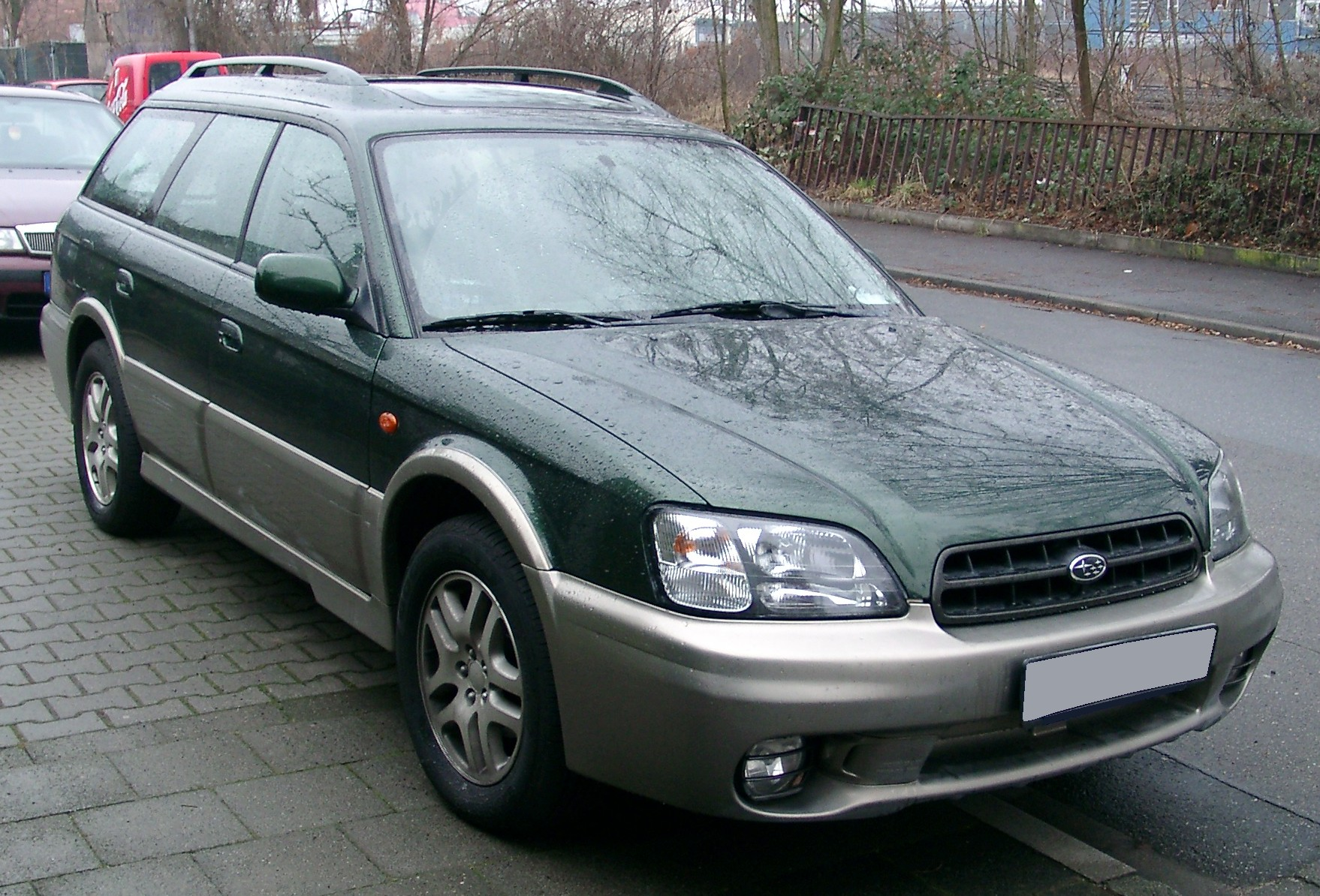 Subaru Legacy Photos Informations Articles 1998 Outback 18