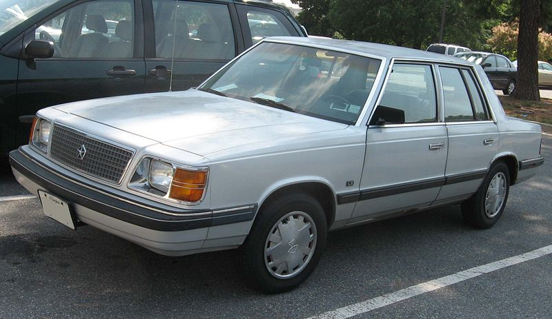 1987 Plymouth Reliant #11