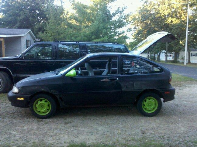 1996 Ford Aspire #12