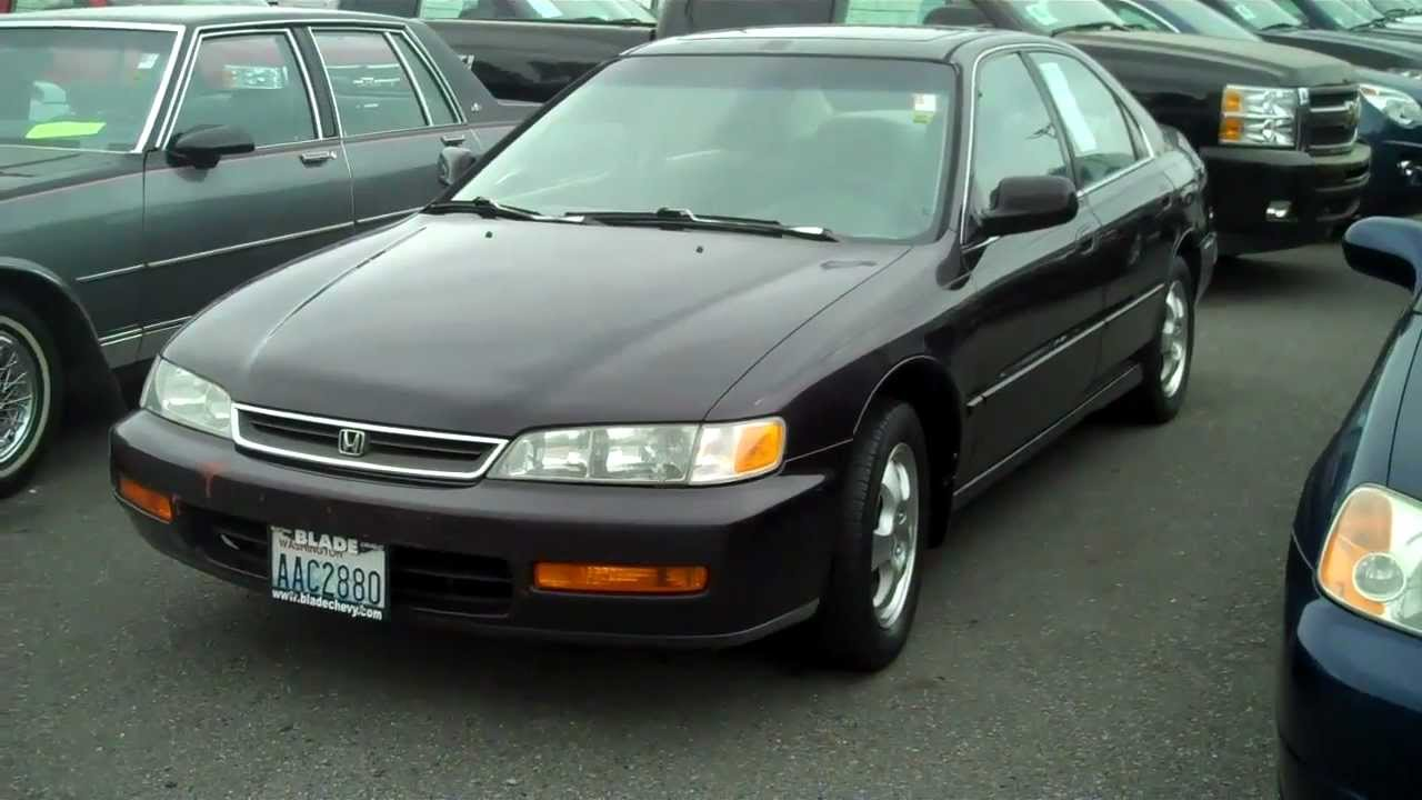 1997 Honda Accord #7