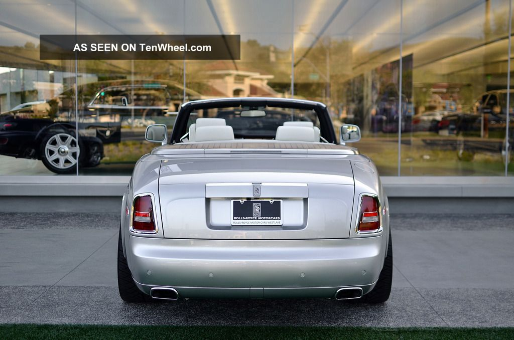 2011 Rolls royce Phantom Drophead Coupe #15