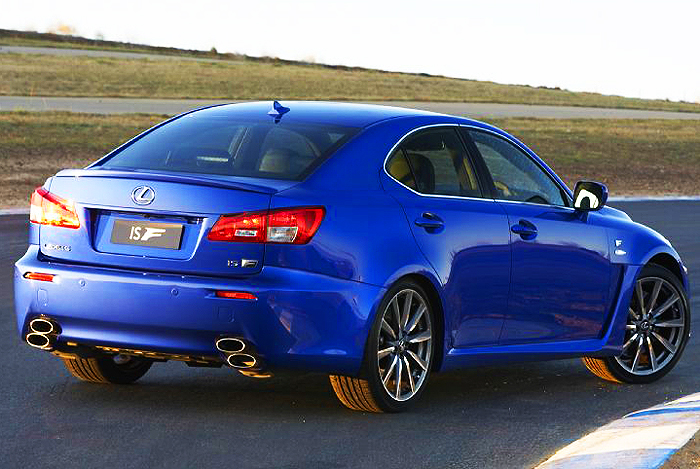 2008 Lexus Is F #8