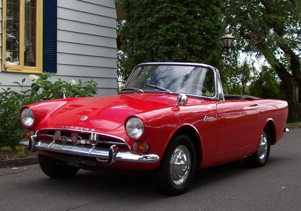 1962 Sunbeam Alpine #17