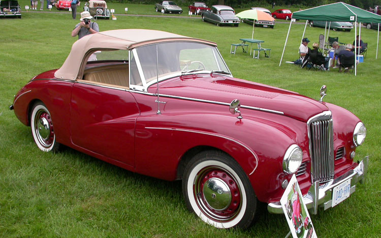 1954 Sunbeam Alpine #3