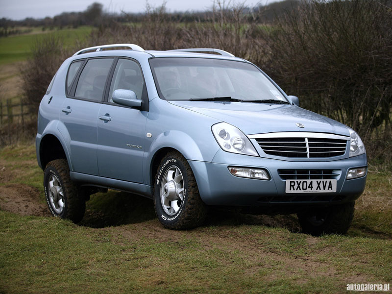 2005 Ssangyong Actyon #9