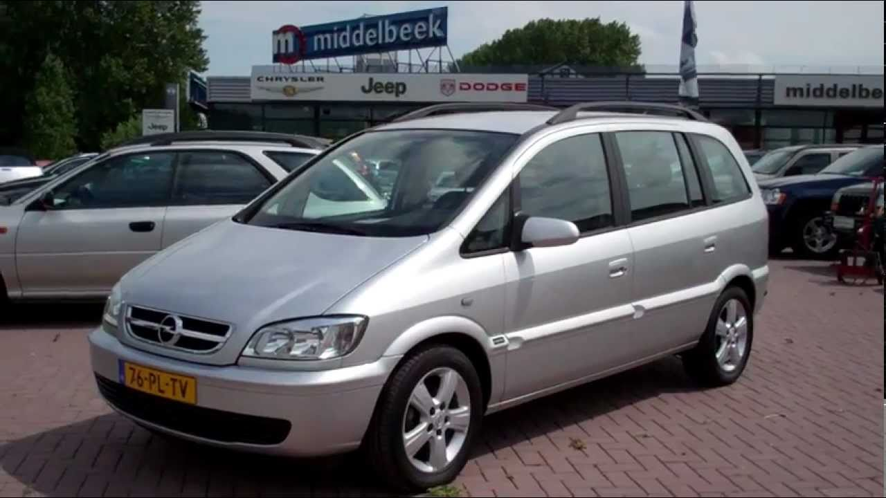 2004 opel zafira photos informations articles. Black Bedroom Furniture Sets. Home Design Ideas