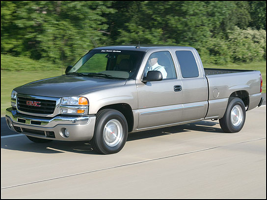 2005 gmc sierra 1500 photos informations articles. Black Bedroom Furniture Sets. Home Design Ideas