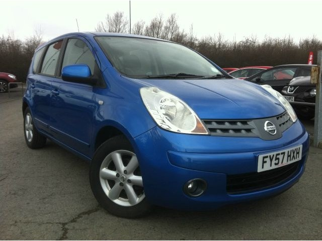 2007 Nissan Note #8