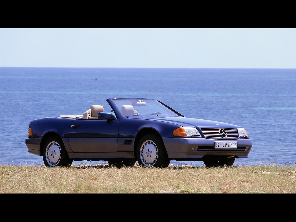 1989 Mercedes-Benz SL #9