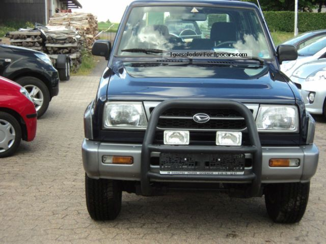 1997 Daihatsu Feroza Photos Informations Articles Bestcarmag
