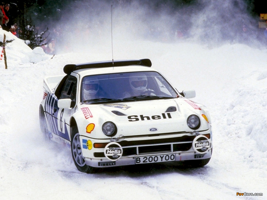 Ford RS 200 #10